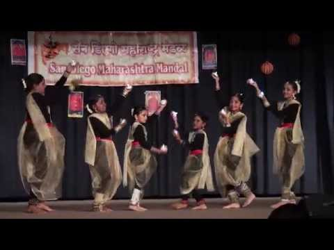 Ganesh Dance - Marathi Mandali Ganesh  Chathurthi Celebration!! video