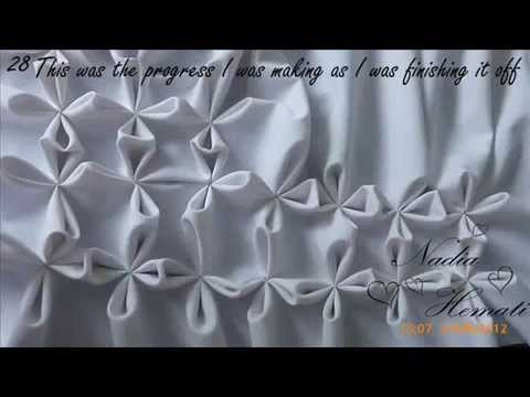 Smocking Patterns For Cushions Smocked Flower Cushion