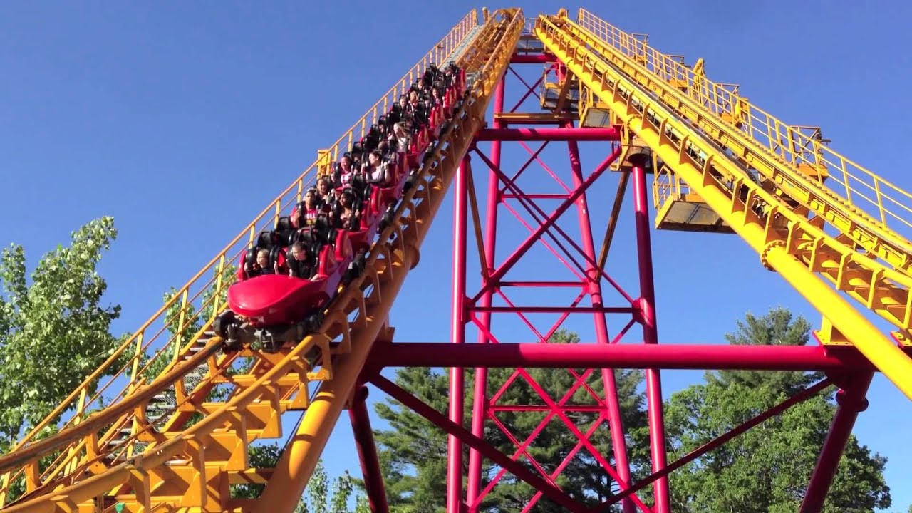 Boomerang Roller Coaster at Great Escape - Lake George ...