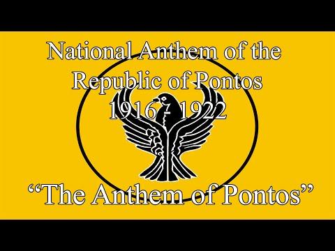 "National Anthem of the Republic of Pontus (1916-1922) - ""Anthem of Pontus"""