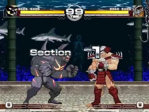 MUGEN : Kahn Do Attitude Dark Kahn vs Shao Kahn