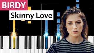 Download Lagu Birdy - Skinny Love - (Easy Version) Piano Tutorial Gratis STAFABAND