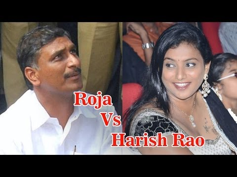 Roja Vs Harish Rao Debate In News Scan - Tv5 video