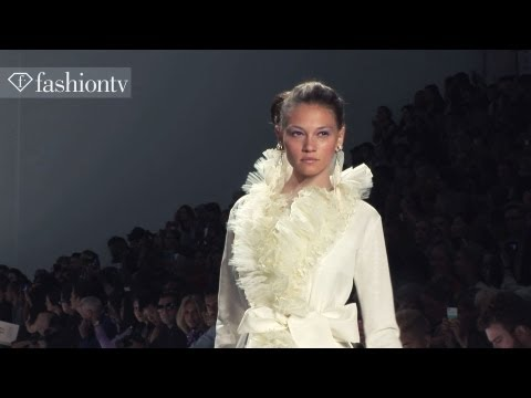 Zang Toi Spring/Summer 2013 Runway Show | New York Fashion Week NYFW | FashionTV