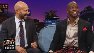 Terry Crews Takes Keegan-Michael Key to Pec Pop School