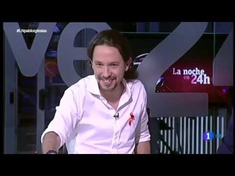 Pablo Iglesias En ''la Noche En 24h'' Tve1 En Hd [2014.12.05] video