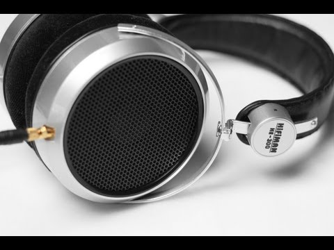 Review: HiFiMAN HE-300 Audiophile Open Back Dynamic Headphones