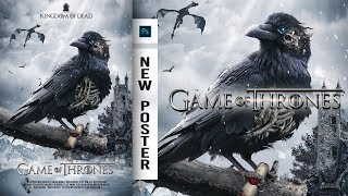 Game of Thrones | New Poster | Photoshop Tutorial