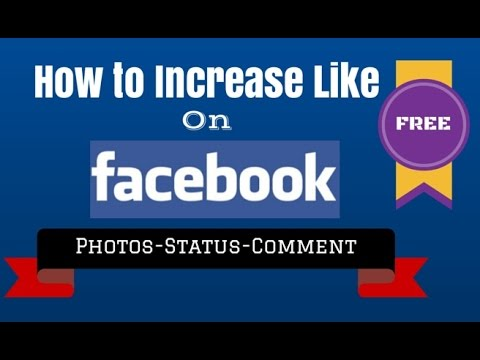 How to Increase likes on Facebook Photo or Status and Fan page New Version 2014
