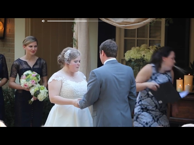 Minister blows chunks during wedding vows