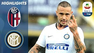 Bologna 0-3 Inter Milan | Nainggolan Scores on his Debut! | Serie A