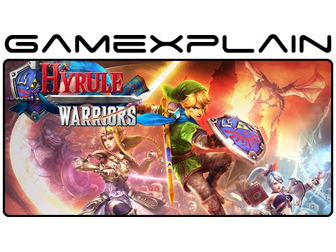 Hyrule Warriors (Japanese) - Adventure Mode Gameplay (Wii U)