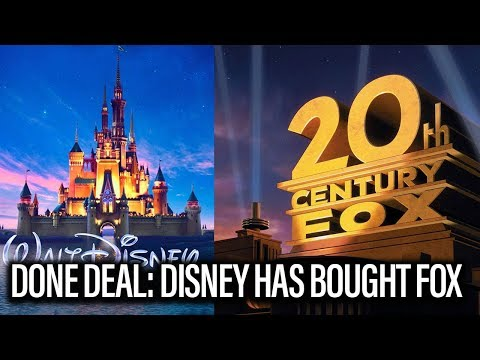 Disney Has Officially Bought Fox
