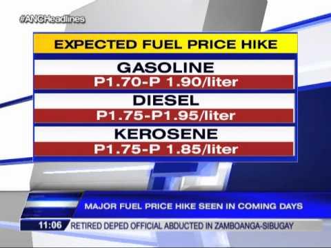 Oil price hike looms this week