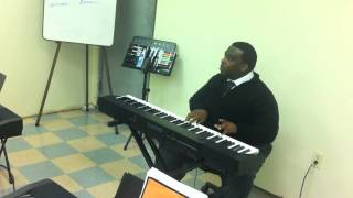 Quennel Gaskin Ministries - Piano Master Class 10-13-2012 - Passing Tones (Lest I Forget Gethsemane)