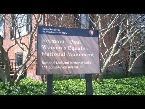 Obama Designates Historic House As Monument For Women's Equality - Newsy