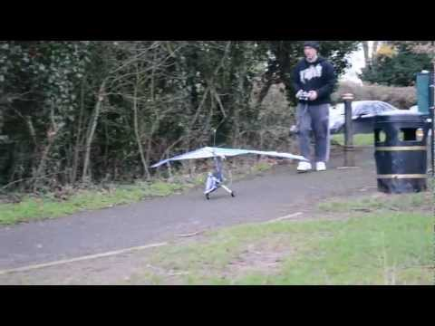 radio controlled microlight / ultralight maiden flight!