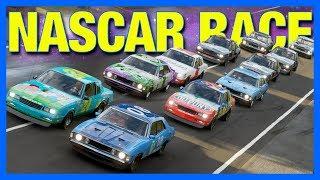 Forza Horizon 4 Online : NASCAR!!