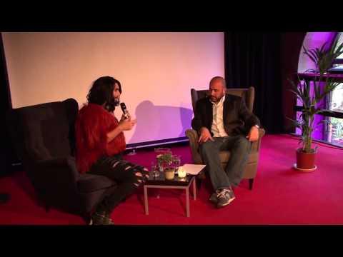 Euro Fan Café - Interview with Conchita Wurst, Austria