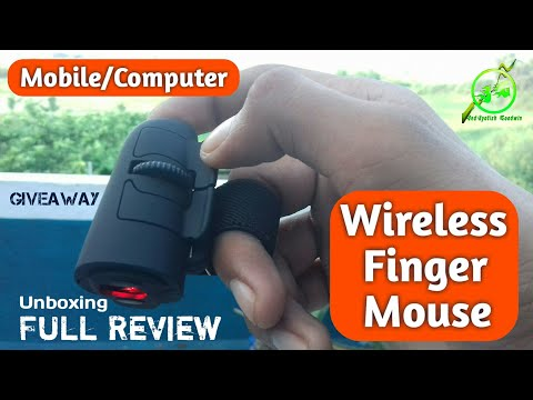 Wireless Finger Mouse for Mobile & Computer, Finger Mouse Full Review, Giveaway