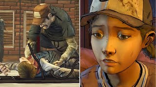 Kenny Tells Clem How He Failed To Save Ben From Walkers -All Choices- The Walking Dead