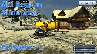 Ski Region Simulator - Multiplayer - EP:1