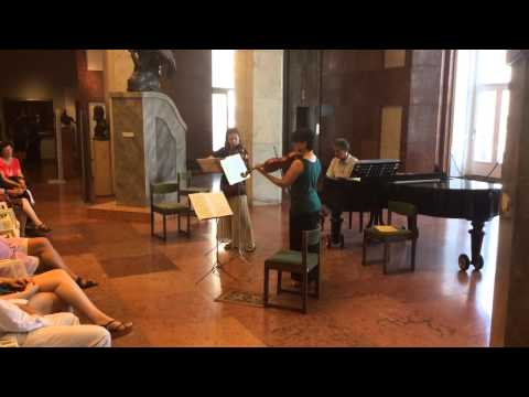 Wilhelm Fr. Bach - Sonata in G major for two violas / 1st mov.