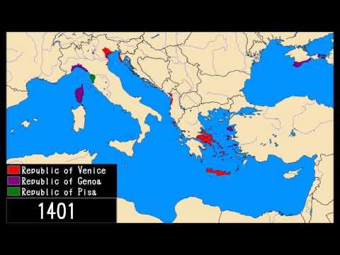 Venice, Genoa and Pisa