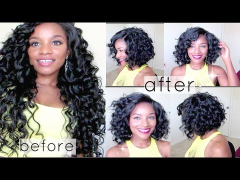 Wavy/Curly Bob Transformation! feat. Friday Night Hair GLS25