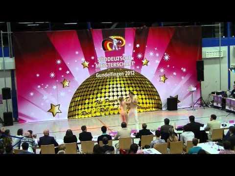 Jana-Simone Scheffler & Tobias Neumann - Süddeutsche Meisterschaft 2012