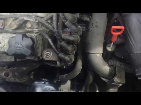 How to replace crank shaft sensor for santa fe 2.7