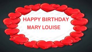 Mary Louise   Birthday Postcards & Postales