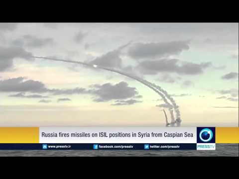 Russia Fires Missiles On ISIL Positions In Syria From Caspian Sea