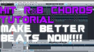 RnB CHORDS TUTORIAL | SECRET HIT FORMULA !!!| PRESONUS STUDIO ONE