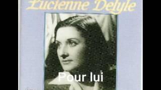 Watch Lucienne Delyle Pour Lui video