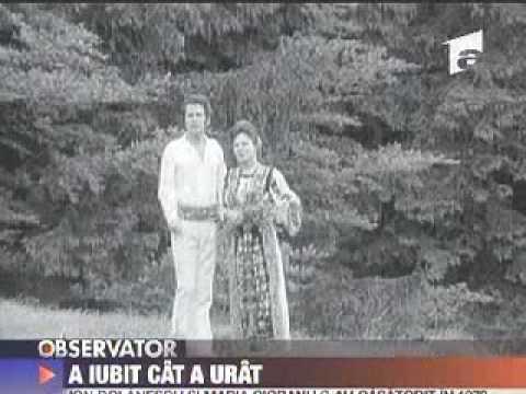 Ion Dolanescu si Maria Ciobanu relatia tumultoasa a celui mai popular cuplu al folclorului romanesc