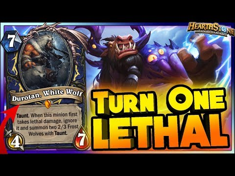 TURN ONE KILL & WTF Moments - Hearthstone Funny Rng Moments
