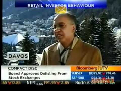 Mr. Sunil Godhwani, speaking on the sidelines of the 2011 World Economic Forum at Davos
