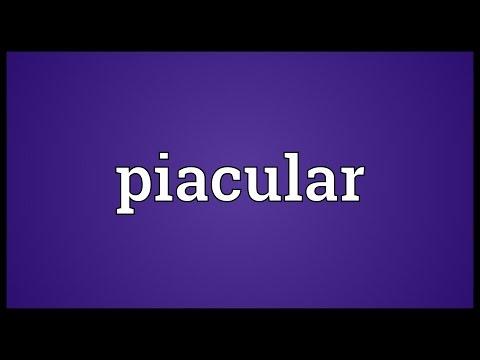 Header of piacular