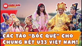 """Các Táo """"bốc quẻ"""" cho chung kết U23 Việt Nam! Cực Hot - Cực Fun"""