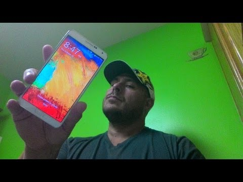 Samsung Galaxy Note 3 Unboxing First Impression Sprint