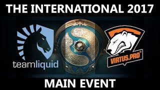 [THE BEST GAME OF THE HISTORY] Team Liquid vs VP GAME 1, The International 2017, VP vs Team Liquid