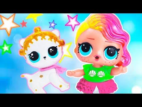 ПИТОМЕЦ ДЛЯ КУКЛЫ ЛОЛ! Мультик #ЛОЛ СЮРПРИЗ Школа Куклы Игрушки Для девочек