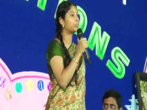 Collector's Inspirational Speech In Vaageswari ECSTASY'12 AnnualDay Celebrations KARIMNAGAR.