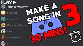 30 Minutes To Write A Song in Discord 3