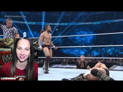 Wwe Raw 4 16 15 John Cena Daniel Bryan Vs Cesaro Kidd video