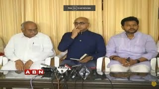 TDP MPs LIVE | Press Meet Over TDP Rajya Sabha MPs Joining BJP LIVE | ABN LIVE