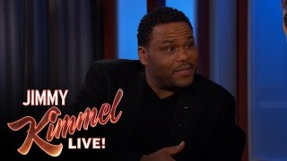 Anthony Anderson on the Trump Episode of black-ish