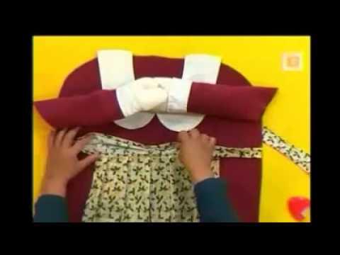 Forros para silla de navidad mama noel parte 2 youtube for Sillas para coche grupo 2
