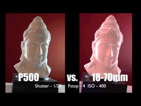 Review: Nikon P500 vs. D7000 Kit Lenses